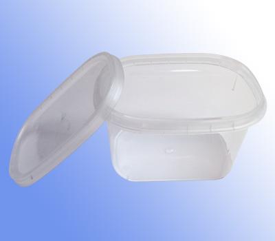 Műanyag tároló doboz 500ml